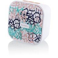 Gogen BS 034 STREET G weiß-rosa - Bluetooth-Lautsprecher