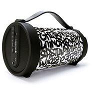Gogen BPS 320 STREET schwarz-weiß - Bluetooth-Lautsprecher