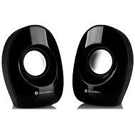 Gogen PSU101 2.0 schwarz - Lautsprecher
