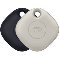 Samsung Smart Pendant Galaxy SmartTag (2er-Pack) - black & oatmeal - Bluetooth Lokalisierungschip