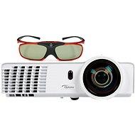 Optoma GT760 Short Throw + 3D-Brille ZD302 - Projektor