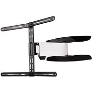 Hama VESA 600x400, einstellbar, schwarzweiß - TV-Wandhalterung