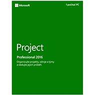 Microsoft Project Professional 2016 - Elektronische Lizenz