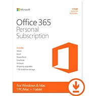 Microsoft Office 365 Personal Subscription - 1 Jahr - Elektronische Lizenz
