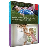Adobe Photoshop Elements + Premiere Elements 2018 MP ENG - Grafiksoftware