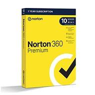Norton 360 Premium 75 GB CZ, 1 Benutzer, 10 Geräte, 12 Monate (elektronische Lizenz) - Internet Security