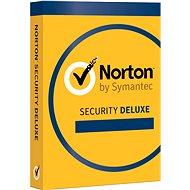 Symantec Norton Security Deluxe 3.0 CZ, 1 uživatel, 3 zařízení, 12 měsíců (elektronická licence) - Elektronische Lizenz