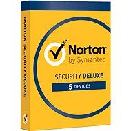 Symantec Norton Security Deluxe 3.0 CZ, 1 uživatel, 5 zařízení, 12 měsíců (elektronická licence) - Elektronische Lizenz