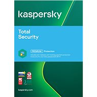 Kaspersky Total Security Multi-Device-Geräte im Jahr 2017 für 4 bis 12 Monate (E-Lizenz) - Antivirus-Software