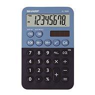Sharp EL-760R blau / schwarz - Taschenrechner