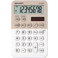 Sharp EL-760R Latte / weiß - Taschenrechner