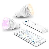 WiZ WiFi Smarte Glühlampe 2 x GU10 mit Treiber WZ0195082 - LED-Birne