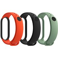 Xiaomi Mi Band 5 Armband (Schwarz, Orange, Türkis) - Armband