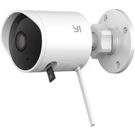 YI Outdoor 1080P Camera Weiß - IP Kamera