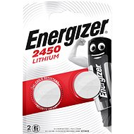 Energizer Lithium-Knopfzellenbatterie CR2450 2 Stück - Knopfbatterie