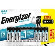 Energizer MAX Plus AAA 8 + 4 Stück gratis - Einwegbatterie