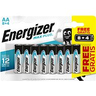 Einwegbatterie Energizer MAX Plus AA 8 + 4 Stück gratis
