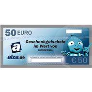 Elektronischer Geschenkgutschein Alza. de für den Kauf von Waren im Wert von 50 € - Gutschein
