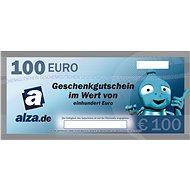Elektronischer Geschenkgutschein Alza. de für den Kauf von Waren im Wert von 100 € - Gutschein