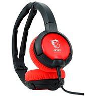 SteelSeries Flux černočervené - Kopfhörer mit Mikrofon