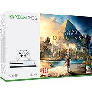 Xbox One mit 500 GB Assassins Creed: Origins - Spielkonsole