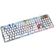 Yenkee YKB 1020PK CZ Fantasy - Tastatur