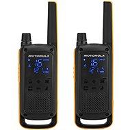Motorola TLKR T82 Funkgerät, gelb / schwarz - Walkie Talkie