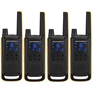 Motorola TLKR T82 Extreme, Quadpack, gelb/schwarz - Walkie Talkie