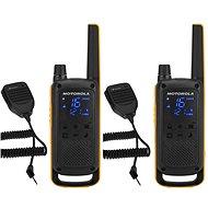 Motorola TLKR T82 Extreme, RSM Pack, gelb / schwarz - Walkie Talkie