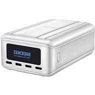 Zendure SuperTank Pro 27000 mAh 100 Watt Power Bank with 4 x USB-C, OLED Screen (Silver) - Powerbank