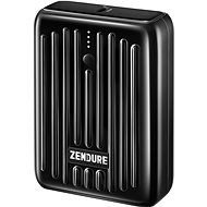 Zendure SuperMini - 10000 mAh Credit Card Sized Portable Charger with PD (Black) - Powerbank