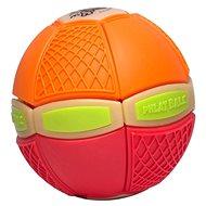Phlat Ball Junior Orange und Rot (leuchtend) - Wurfscheibe und Spielball in Einem