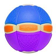 Phlat Ball Junior Blau und Lila (leuchtend) - Wurfscheibe und Spielball in Einem