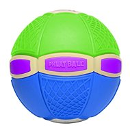 Phlat Ball Junior Grün und Blau (leuchtend) - Wurfscheibe und Spielball in Einem