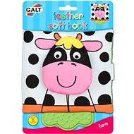 Kinderbuch mit einem Beißring - auf dem Bauernhof - Kinderbuch