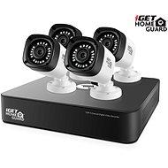 iGET HOMEGUARD HGDVK46704P, 4-Kanal HD DVR + 4 x HD720p Kamera, IP66, Nachtsicht - Kamerasystem