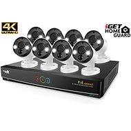 iGET HOMEGUARD HGNVK164908 + 8x HGNVK936CAM 4K (8MPx) - Kamerasystem