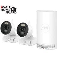 iGET HOMEGUARD HGNVK88002P + 2x IP kamera FHD 1080p - Kamerasystem