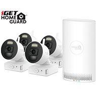 iGET HOMEGUARD HGNVK88004P + 4x IP kamera FHD 1080p - Kamerasystem