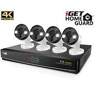 iGET HOMEGUARD HGNVK84904 + 4x HGNVK936CAM - Kamerasystem