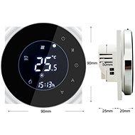 iQtech SmartLife GBLW-B, WiFi-Thermostat für Fußbodenheizung, schwarz - Thermostat