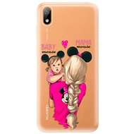iSaprio Mama Mouse Blond and Girl for Huawei Y5 2019 - Mobile Case