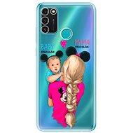 iSaprio Mama Maus Blondine und Junge für Honor 9A - Handyhülle