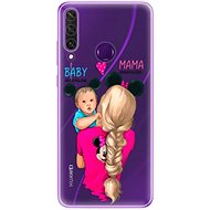 iSaprio Mama Mouse Blonde and Boy for Huawei Y6p - Mobile Case
