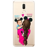 iSaprio Mama Mouse Brunette and Boy for Huawei Mate 10 Lite - Mobile Case