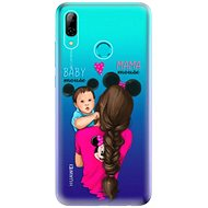iSaprio Mama Mouse Brunette and Boy for Huawei P Smart 2019 - Mobile Case