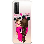 iSaprio Mama Mouse Brunette and Girl for Huawei P Smart 2021 - Mobile Case
