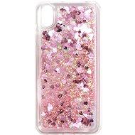 iWill Glitter Liquid Heart Case für HUAWEI Y5 (2019) / Honor 8S Pink - Handyhülle