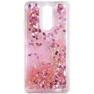 iWill Glitter Liquid Heart Case für Xiaomi Redmi 8 Pink - Handyhülle