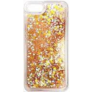 iWill Glitter Liquid Star Case für Apple iPhone 7/8 / SE 2020 Roségold - Handyhülle
